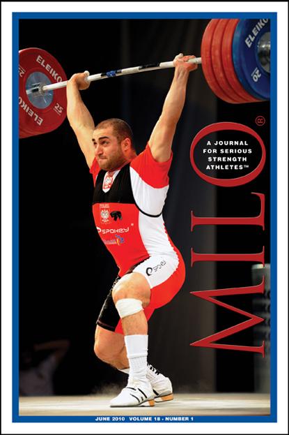 Milo Bodybuilding Strongman Weightlifting Magazine Saeed Jaber 3-02 vol 9 #4